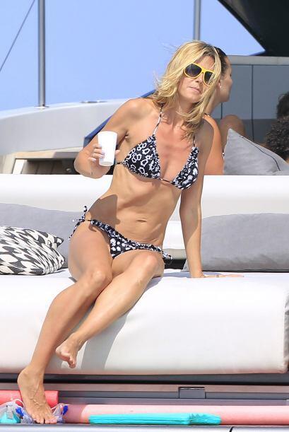 ¡Heidi Klum sigue sin perder el toque! Con 41 años esta 'ex' modelo sigu...