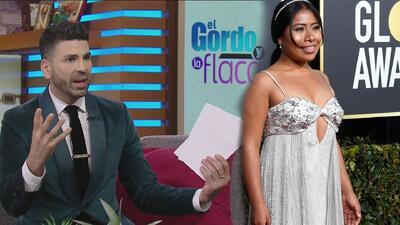 """Jomari Goyso defiende el vestido de Yalitza Aparicio en los Globos de Oro: """"se veía bien en su cuerpo"""""""