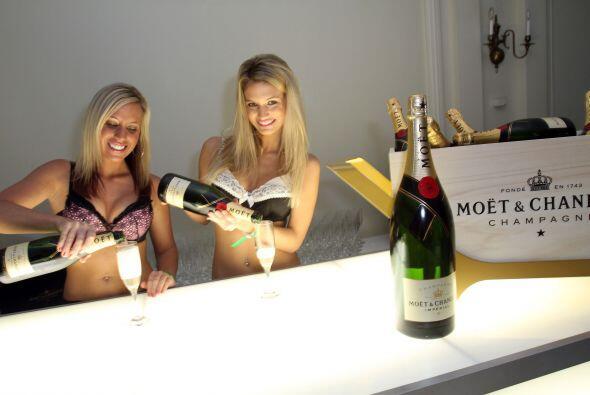 ¡Champagne para todos!