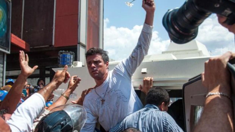 El opositor venezolano fue arrestado por el gobierno de Nicolás Maduro t...