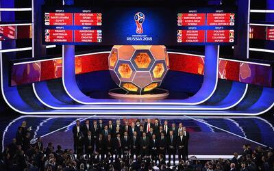 Este viernes quedaron definidos los grupos del Mundial de Rusia 2018.