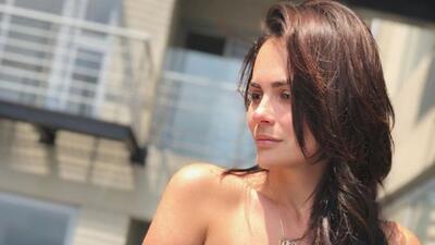 Laura Carmine lo perdió todo en un incendio y tuvo que tomar terapia psicológica