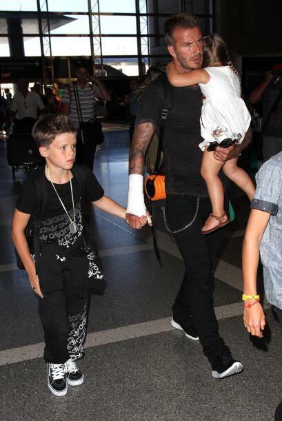 Beckham se ha convertido en uno de los papitos favoritos del showbiz.