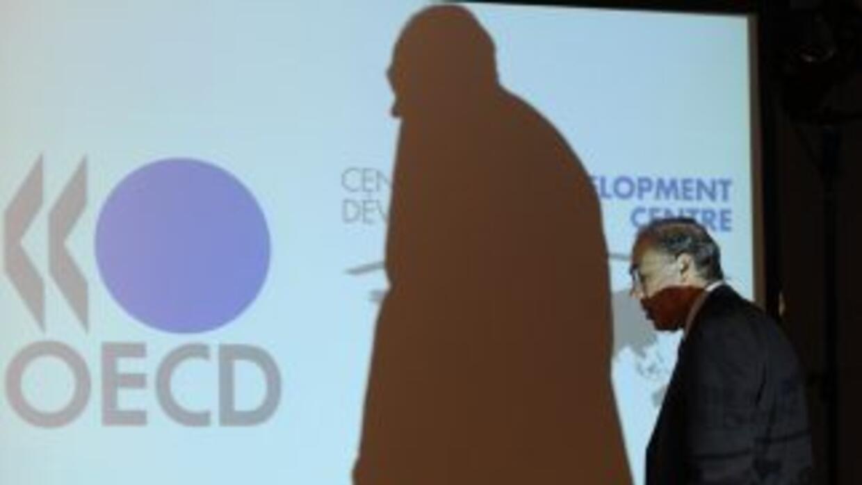 El secretario general de la OCDE, Ángel Gurría, destacó que la consolida...