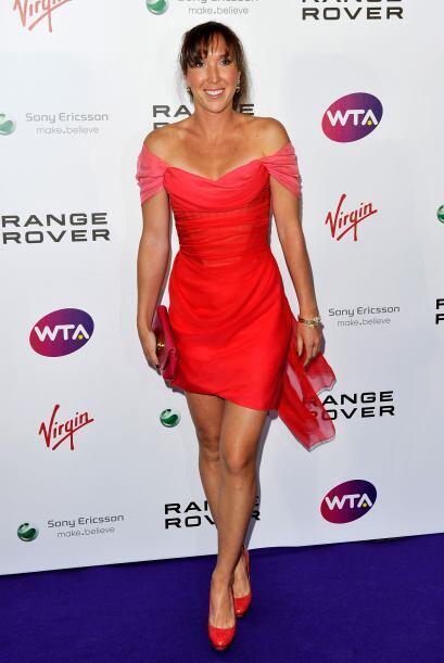 La serbia Jelena Jankovic llega al torneo de hierba como la número 15 de...