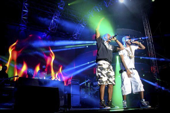 Además de poner el escenario a vibrar con su música, Ludacris nos dió un...