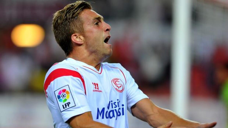 Deulofeu, quien pertenece al Barcelona, marcó el tanto del triunfo de lo...