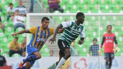 Santos y San Luis empataron sun goles en la Copa MX.