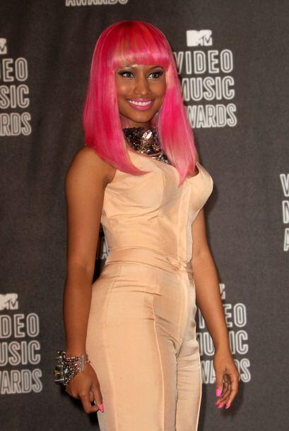 La excéntrica y sensual cantante de hip hop y rap, Nicki Minaj, le reali...