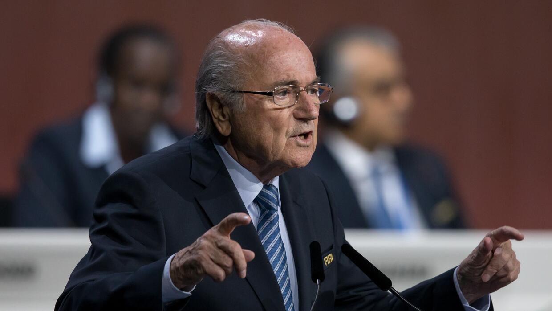 Blatter en su discurso en el Congreso de FIFA