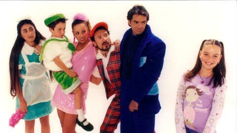 La familia P.Luche cumple 15 años de haber llegado a la televisi&...