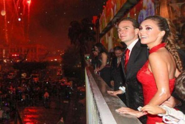 Así que podríamos ver a Anahí como la primera dama de México, ¿qué tal?