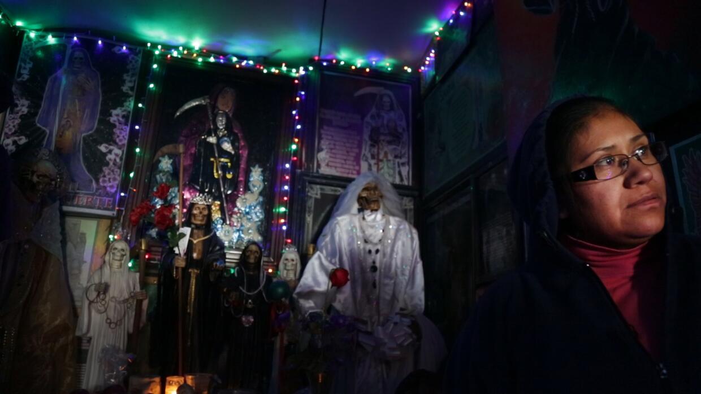 Hace cinco años, Guadalupe García cambió a la Vírgen y a San Judas por l...