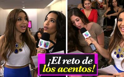Aly Villegas desafió a las chicas de Chicago a imitar diferentes acentos