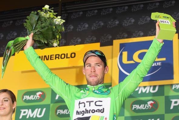 El verde, ganador de la clasificación por puntos, fue para el inglés Mar...