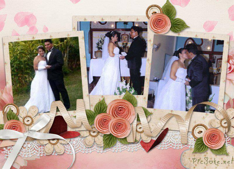 Radioescuchas del show nos compartieron fotos de su boda.