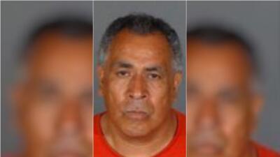 El detenido, Armando Hernández.