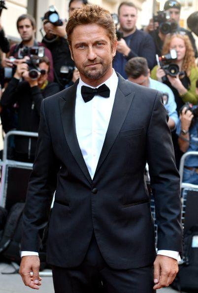 Gerard Butler, guapo actor, cantante, abogado y productor de cine britán...