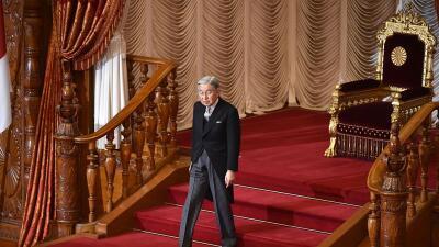 El emperador japonés, Akihito, quiere dejar el trono pronto