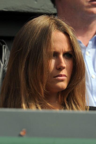 Tambièn la novia de Andy Murray, Kim Sears, estuvo apoyando a su amor, q...