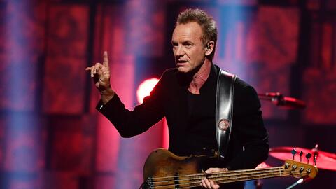 En la 89 entrega de los Oscar, Sting cantará 'The Empty Chair', n...