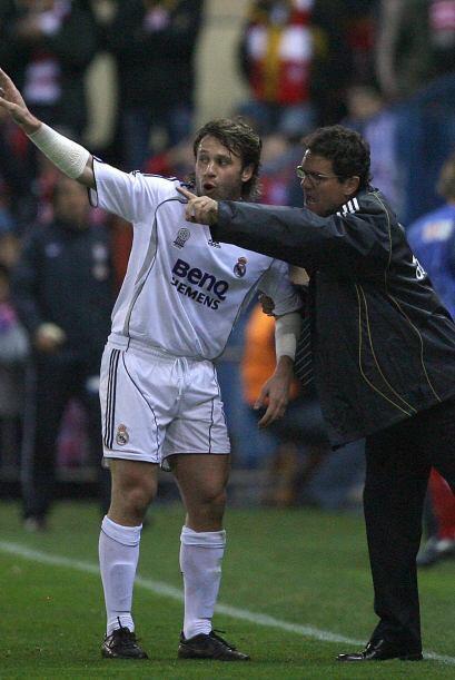 En el Madrid, Cassano volvió a coincidir con Capello, peor esta vez la r...