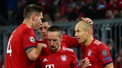 En fotos: Bayern Munich aplastó a Benfica y ya piensa en la próxima fase de Champions