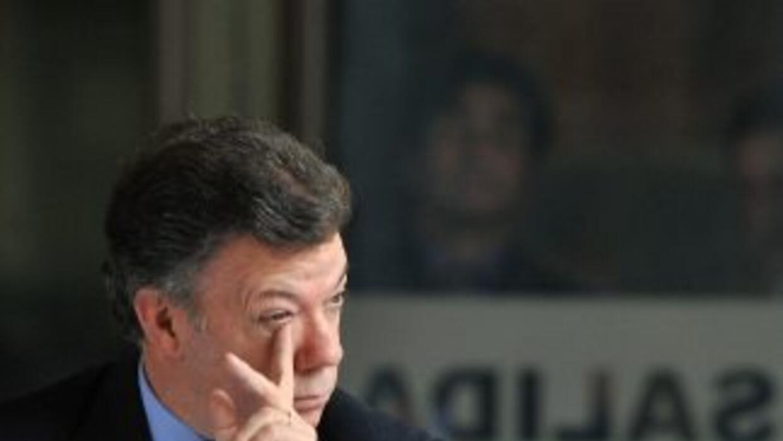El presidente de Colombia, Juan Manuel Santos, lamentó las muertes.