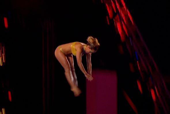 ¡Maya Karuna hizo un salto tan perfecto que le dio la corona!