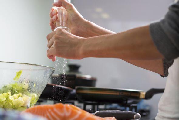 """""""Al reducir una salsa, se vuelve más salada. Puedes agregar sal al final..."""