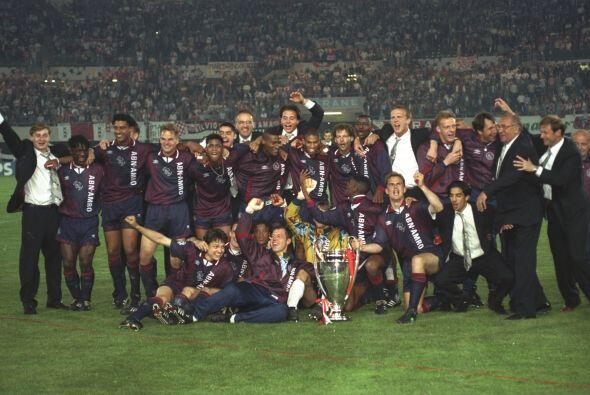 1996 fue de los últimos años en que vimos a último gran Ajax de Amsterda...