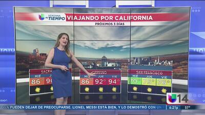 Comienzan a subir las temperaturas en California