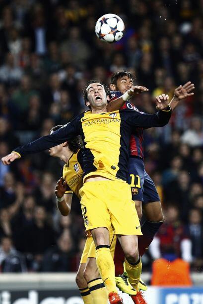 El Barcelona tenía algunos problemas con los contragolpes del Atlético,...