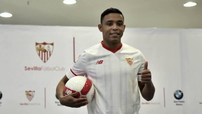 Luis Fernando Muriel llegó a España en el 2010 para jugar en Segunda con...