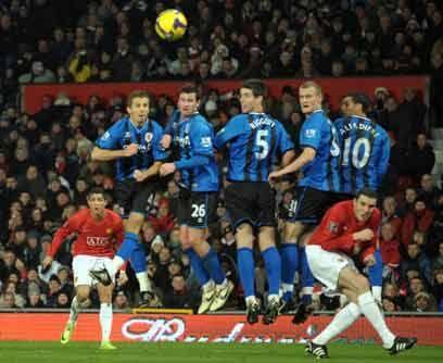 Buen cobrador de faltasEn el Manchester United la mayoría de las faltas...