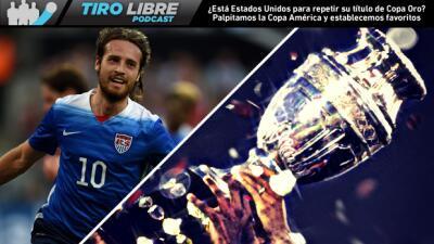 Tiro Libre Radio | Análisis del presente de EE.UU. y la Copa América