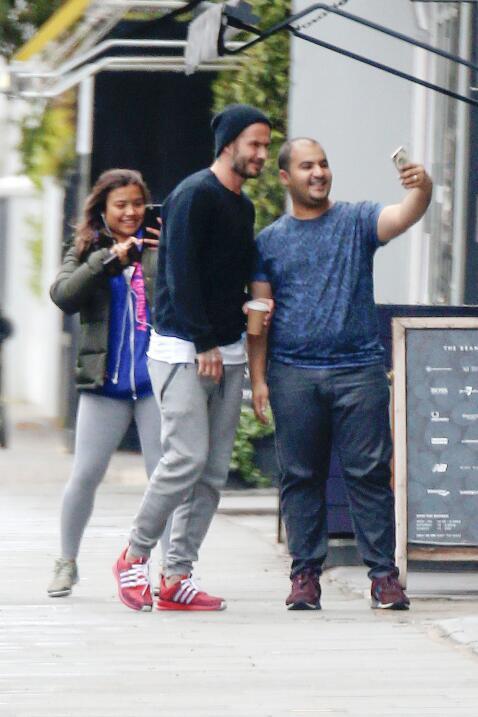 David Beckham ama pasar su tiempo con Harper