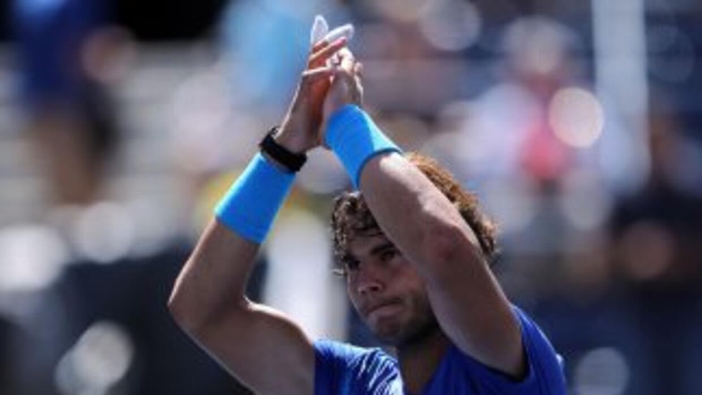 Rafael Nadal avanzó a cuartos de final del US Open.