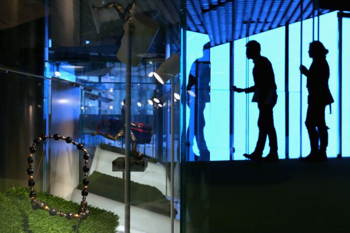 Detalles del nuevo Museo del Fútbol Mundial de la FIFA.