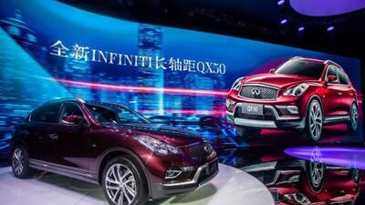 En China, la QX50 utilizará el motor 2.0 litros turbo ya probado en ese...