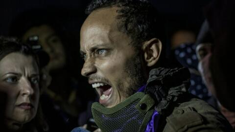 El expolicía rebelde Óscar Pérez dijo que quer&iacu...