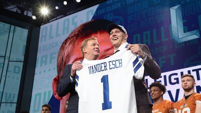 No hay sucesor de Dez; Cowboys eligieron al LB Leighton Vander Esch