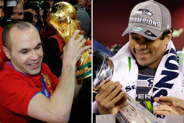 España-Seattle Seahawks Sólo tiene sentido por que ambos son los campeon...