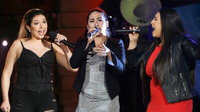 Paloma Carrasco, Marcela Gálvez y Claudia Fernanda olvidaron las letras...