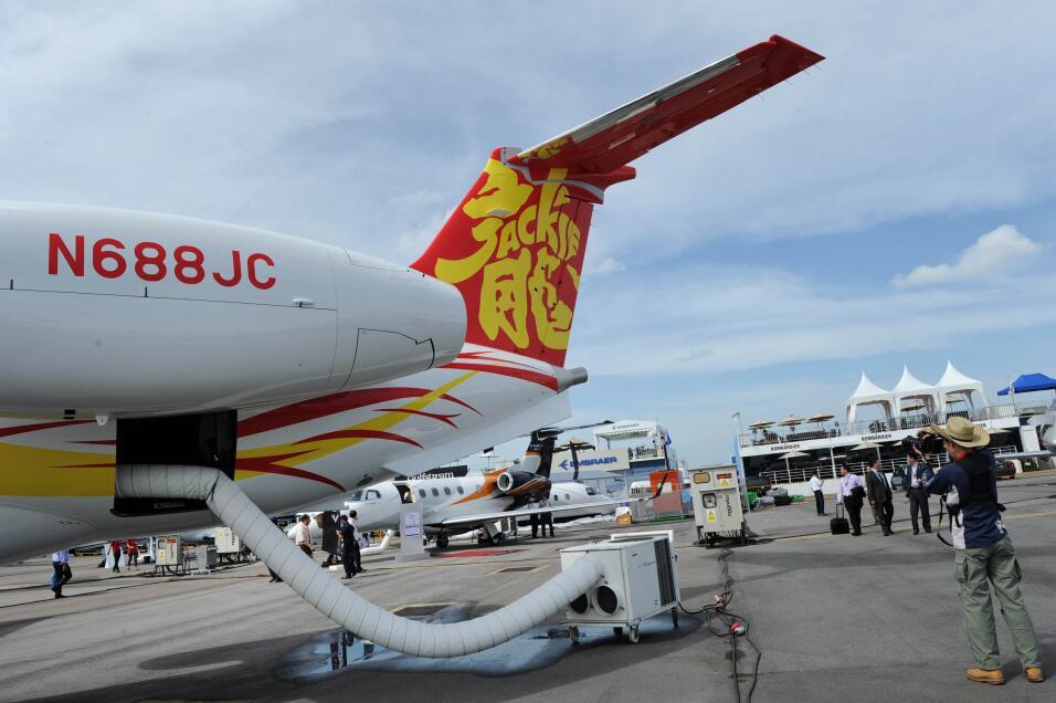 Chan recurre a este avión a la hora de los vuelos transoceánicos, como s...