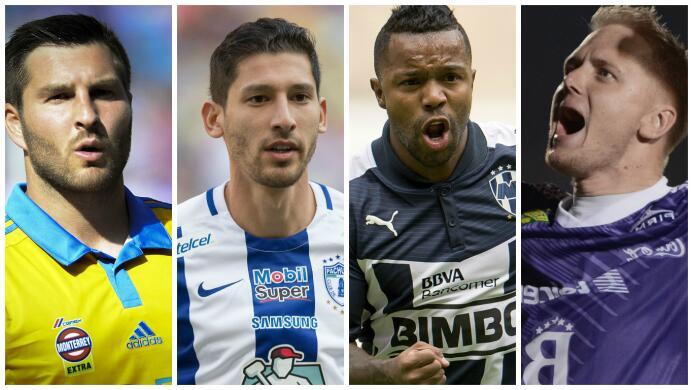 Ellos son los jugadores que más puntos sumaron durante el Clausura 2016.