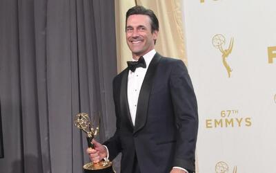 Jon Hamm finalmente gana un Emmy por 'Mad Men'