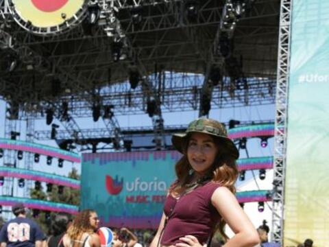 Check out pics of some of the ladies at the Uforia Music Festival in LA!...
