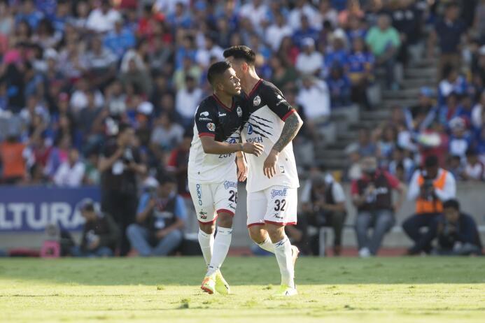 En fotos, Lobos BUAP goleó 3-0 a Cruz Azul en la Liga MX  gol-de-jonatha...