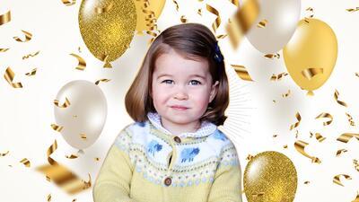 La princesa Charlotte cumple 3 años de ternura real 😍: de bebé a niña en 22 fotos